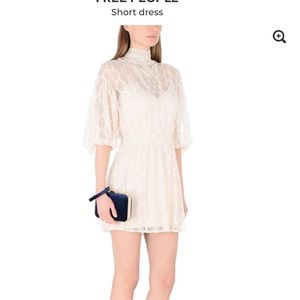 FREE PEOPLE lace dress S